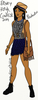DHC2014-Pocahontas by Youngjusticeaddict