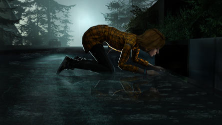 [IT + LiS] Lost Polaroid in the Sewer by BenGrunder