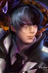 .:Ace Attorney:. Simon Blackquill by LainyLu