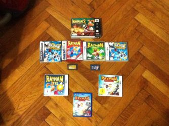 Rayman Collection #6 by OldClassicGamer