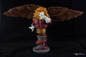 [Garage kit painting #09] Griffin bust - 009 by DasArt