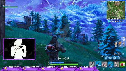 [PURPLE] Victory Royale 2018 - Stream Overlay by LoL-Overlay
