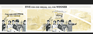 Five for one dream, all for WINNER by Xioelgji1911