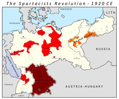 The Spartacist Revolution (The Poppy Grows Red) by Charles471