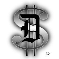 D Money Tattoo by simplemanAT