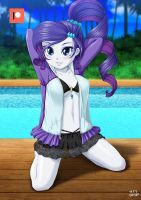 Swimsuits Rare [Rash guard] by uotapo