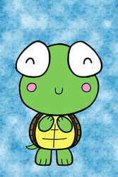 Kawaii Turtle by Jade-Sage08
