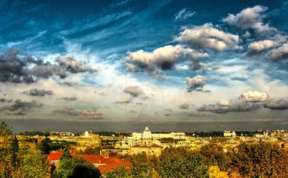 Roma in hdr by Gabbagabbahei