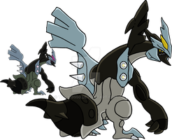 646 - Black Kyurem - Art v.3 by Tails19950