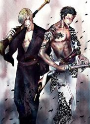 One piece Zosan Zoro and Sanji by Bubulle17
