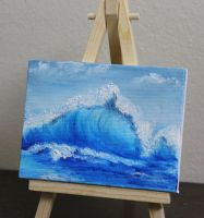 Mini Wave #2 by crazycolleeny