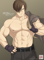 MuscleUp - Leon S. Kennedy by zephleit