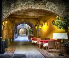 Streets of Montepulciano 2 by CitizenFresh