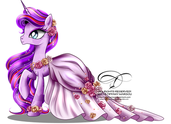 Commission - Gala Gown for Timeless Love by tiffanymarsou