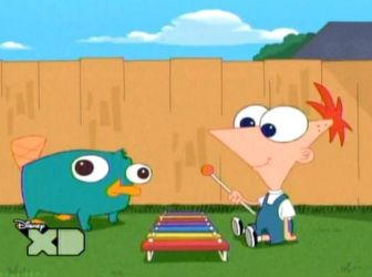 Baby Phineas and Perry by Escaping-The-Reality