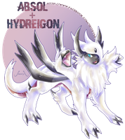 Absol X Hydreigon [Closed] by Seoxys6