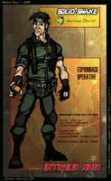 N 313 Solid Snake design Reboot by Cilab