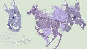 Concept Character Art | Fawnlings by Themisadventure