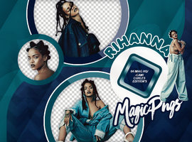 PACK PNG 729| RIHANNA by MAGIC-PNGS