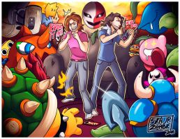 THE GRUMPS vs THE VG WORLD by SkaJrZombie