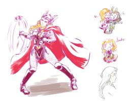 Oh, lady Thor by MicoSol