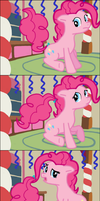 Pinkie's party gone wrong by DeathPwny