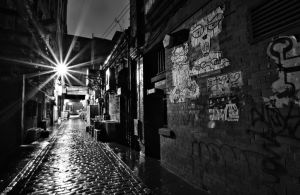 Alleyways in BW by BusterBrownBB