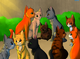 Warrior Cats Redraw by whisker-star