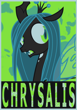 Poster - Queen Chrysalis! by SemonX