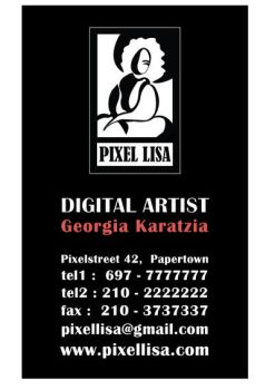 Quick business card by UmbrellaFighter