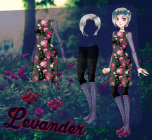 My Candy Love: noname girl with a flower dress by TwoLoversDaughter
