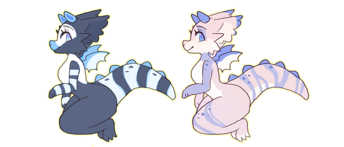 Chibiragons AUCTION .:OPEN:. by Diiragon