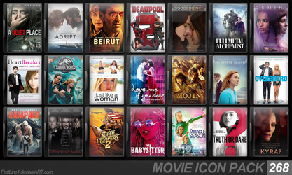 Movie Icon Pack 268 by FirstLine1