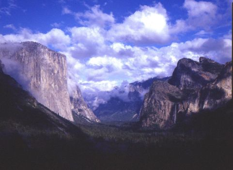 Yosemite Valley 1983 by dennis-c