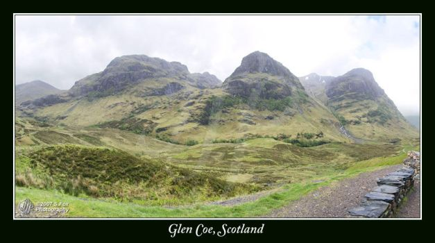 Glen Coe Panorama 1 by FoxDesigns