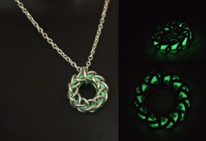 Glowing Core Pendant (while glowing) by ofmyhats