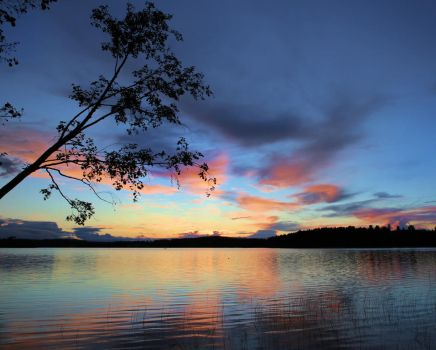 Calm summer night by KariLiimatainen