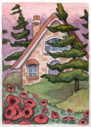 Canadian Cottage by WhimsicalMoon