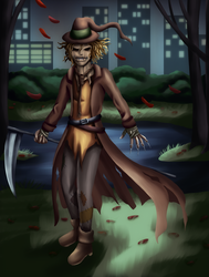 Fiona Catherine's Scarecrow by Antares-the-Tall