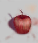 Red Apple Color Practice by desertpunk12