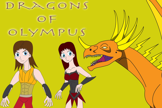 The Dragons of Olympus by Daizua123