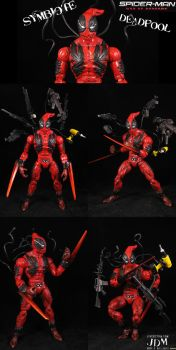 Symbiote Deadpool by Jin-Saotome