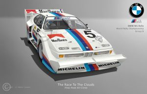 BMW M1 Rally: Pikes Peak by hussain1