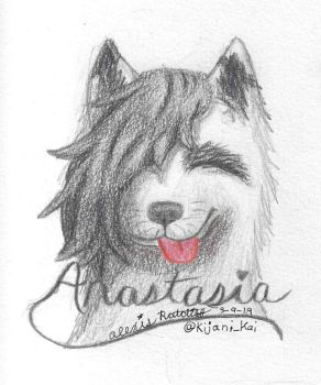Anastasia - mini sketch commission