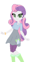 .: AU Sweetie Belle ~ Equestria Girls :. by Drama-llama10