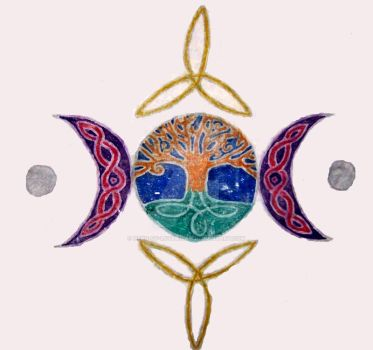 Wiccan Celtic Tattoo by neko-of-lotherian