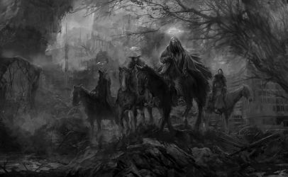 The Horsemen by PabloFernandezArtwrk