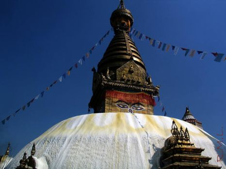 Nepal Temple by Evicas