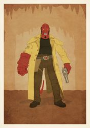 Hellboy Poster by zpecter