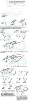 How to draw a Dragon by ShadowWalkerInc